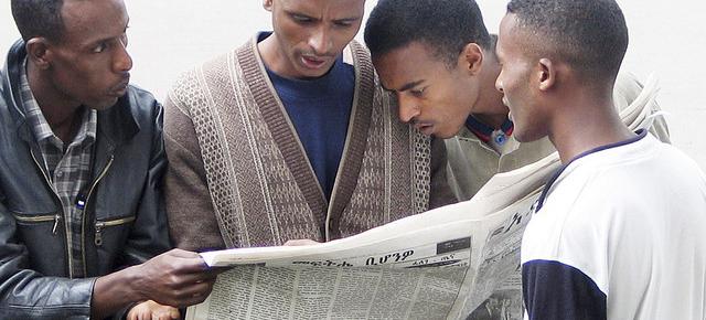 prasa w Etiopii