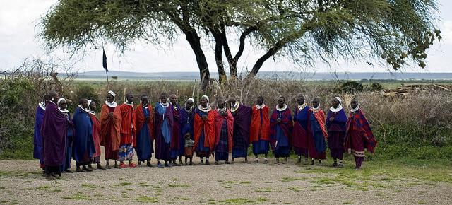 Serengeti Masajowie