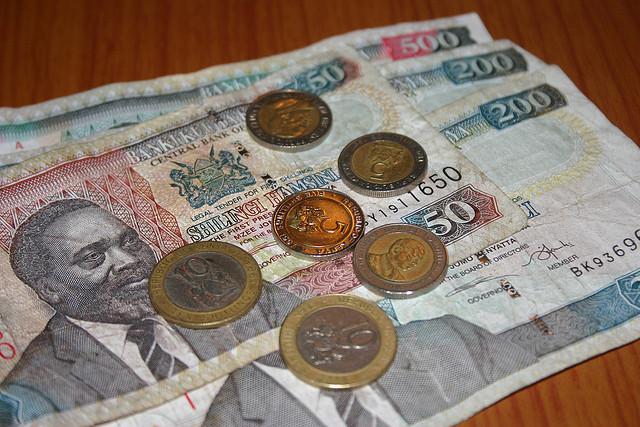pieniądze Afryka