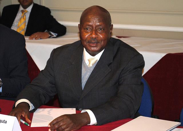 Museveni, źródło: http://www.flickr.com/photos/chathamhouse
