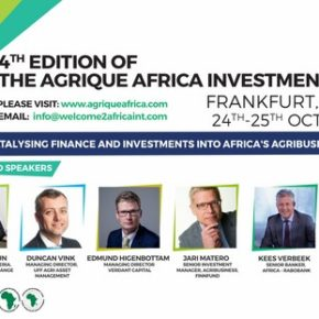 Specjalne zaproszenie na czwartą edycję the Agrique Africa Investment Summit (AAIS2017), 24-25 października 2017 do Frankfurtu, Niemcy