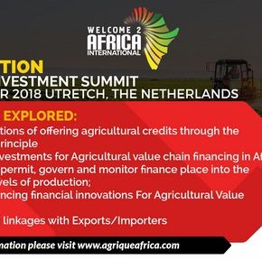 Value Chain Financing Edition of the Agrique Africa Investment Summit 2018