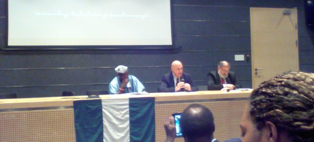 Konferencja z okazji LVIII Dnia Niepodległości Nigerii w Lublinie